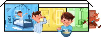 Google Logo: Universal Children's Day