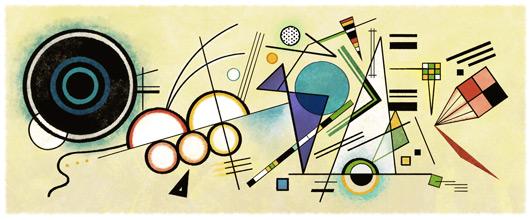 148 vuotta Wassily Kandinskyn syntymästä